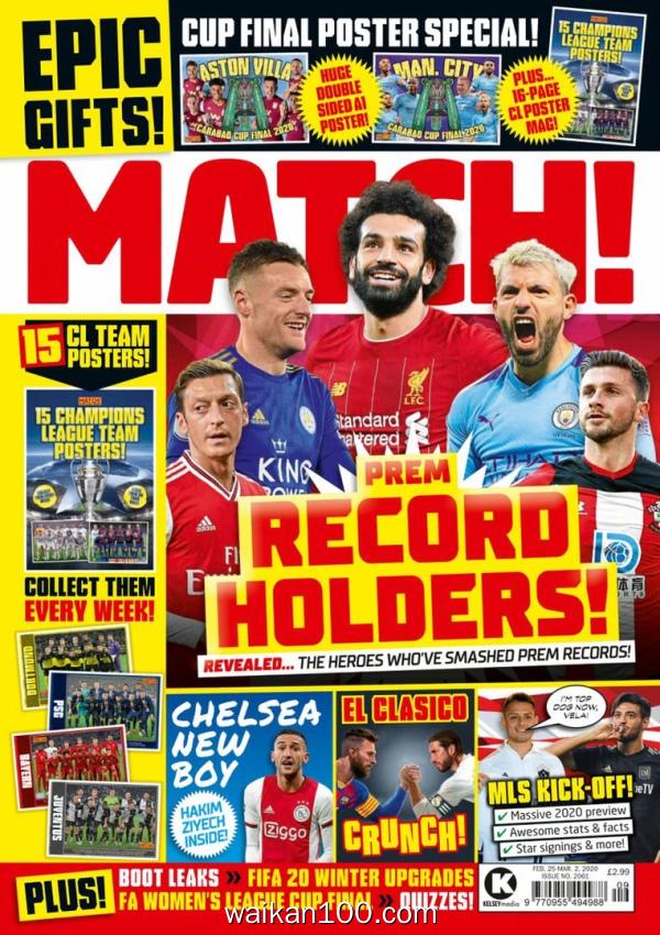 Match! 2月刊 25 2020年 [42MB]