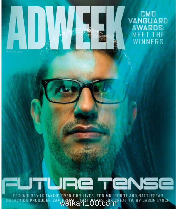 Adweek 3月刊 16 2020年高清PDF电子杂志外刊期刊下载英文原版
