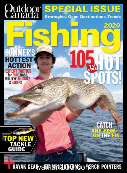 Outdoor Canada 3月4月合刊 2020年高清PDF电子杂志外刊期刊下载英文原版