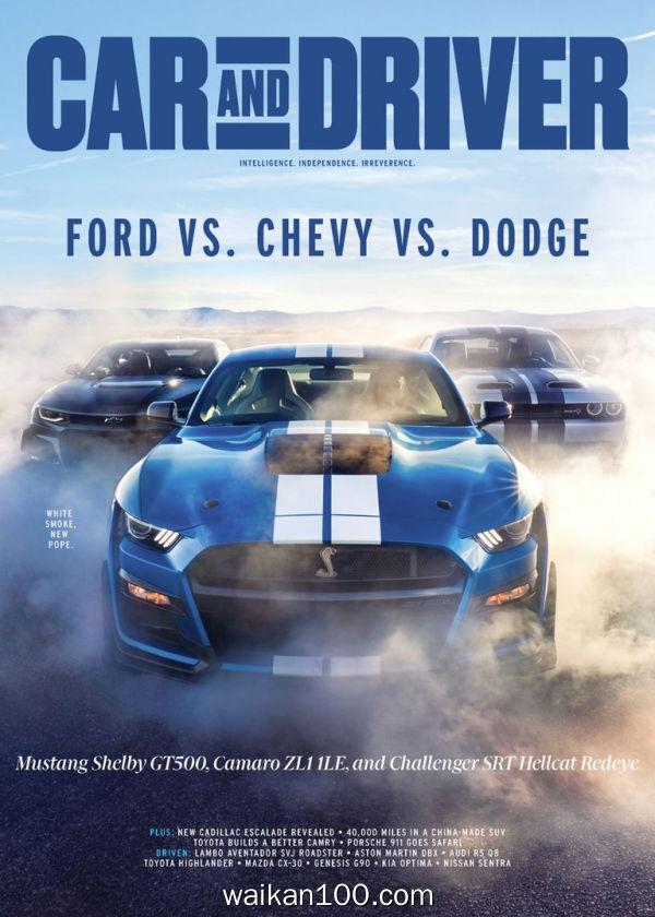 [美国版]Car and Driver 3月刊 2020年 [87MB]