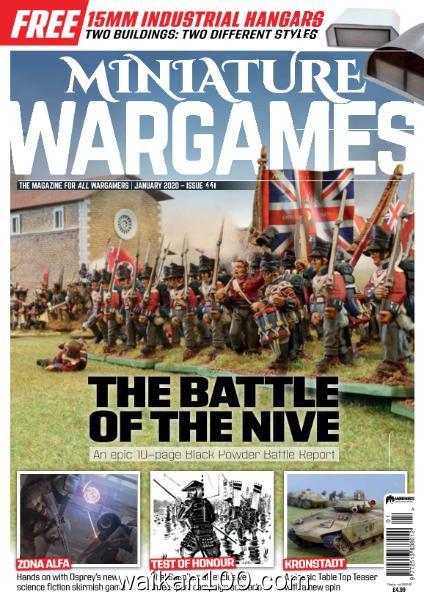 Miniature Wargames 总期数No.441 1月刊 2020年高清PDF电子杂志外刊期刊下载英文原版