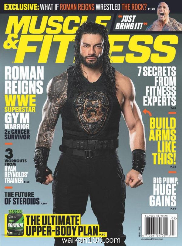 [美国版]Muscle&Fitness 4月刊 2020年高清PDF电子杂志外刊期刊下载英文原版