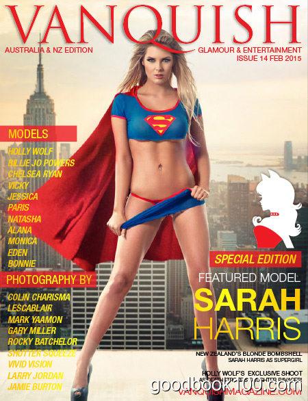 Vanquish Australia & NZ – Issue 14, February 2015 Super Heroes Cosplay Edition
