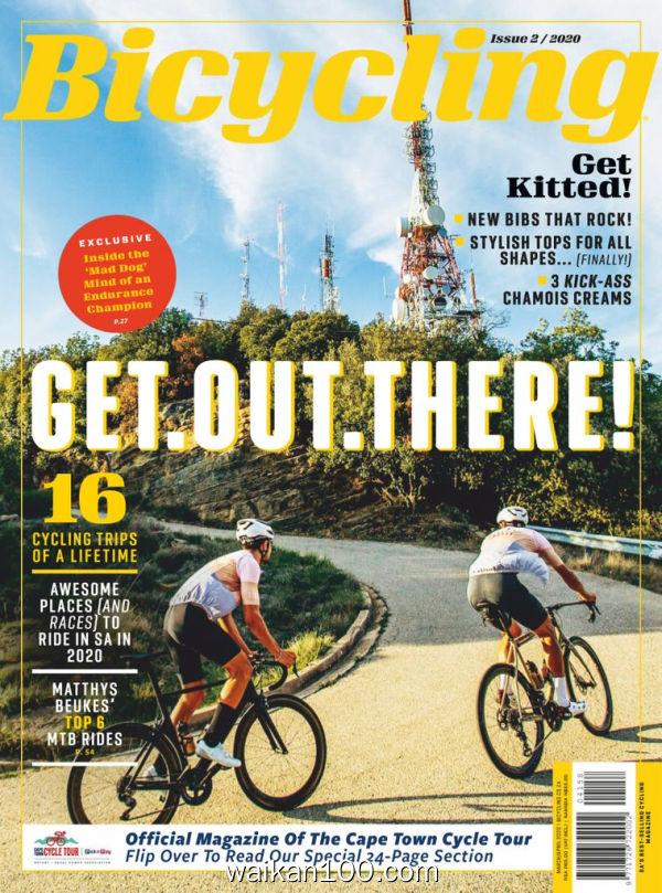 [南非版]Bicycling 3月刊 2020年 [76MB]