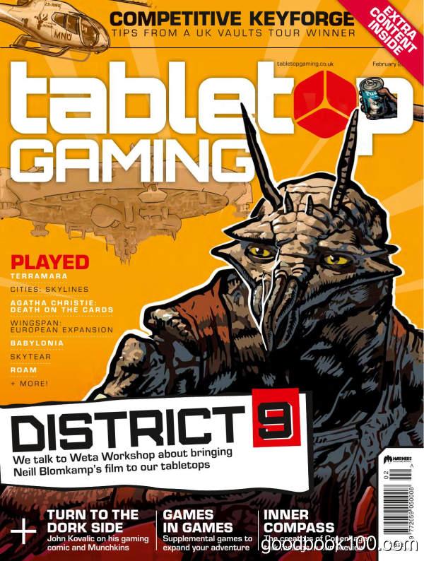 Tabletop_Gaming_-_Issue_39_-_February_2020英文原版高清PDF电子杂志下载