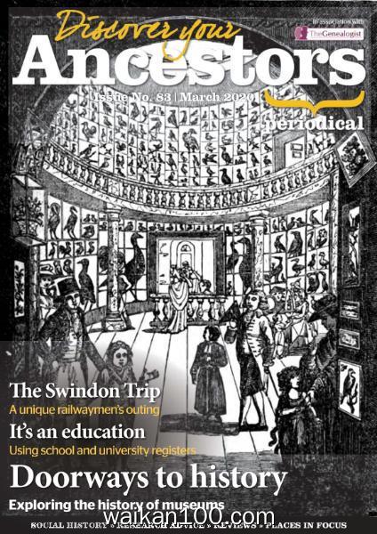 Discover Your Ancestors 3月刊 2020年高清PDF电子杂志外刊期刊下载英文原版