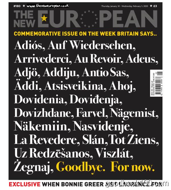 The_New_European_-_January_30_2020英文原版高清PDF电子杂志下载