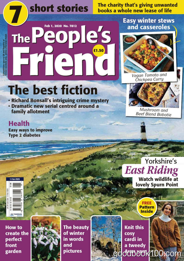 The_People_s_Friend__February_01_2020英文原版高清PDF电子杂志下载