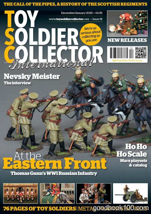 Toy_Soldier_Collector_International_-_Issue_91_-_December_2019_-_January_2020英文原版高清PDF电子杂志下载