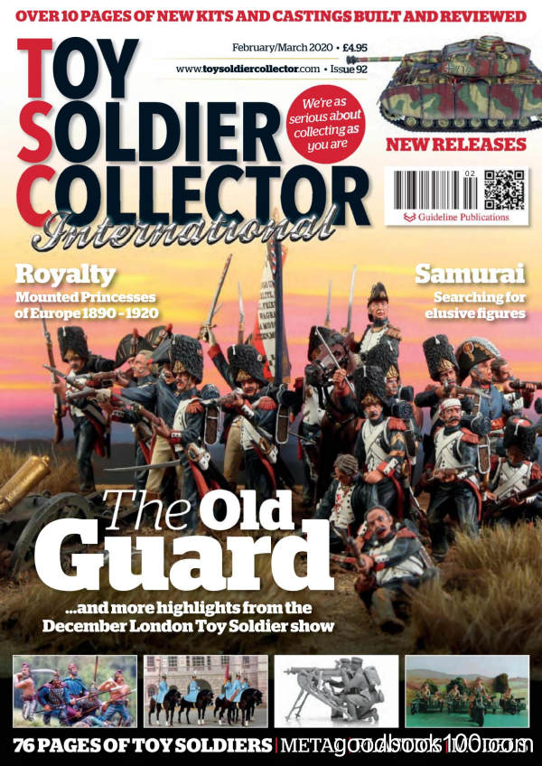 Toy_Soldier_Collector_International_-_Issue_92_-_February-March_2020英文原版高清PDF电子杂志下载