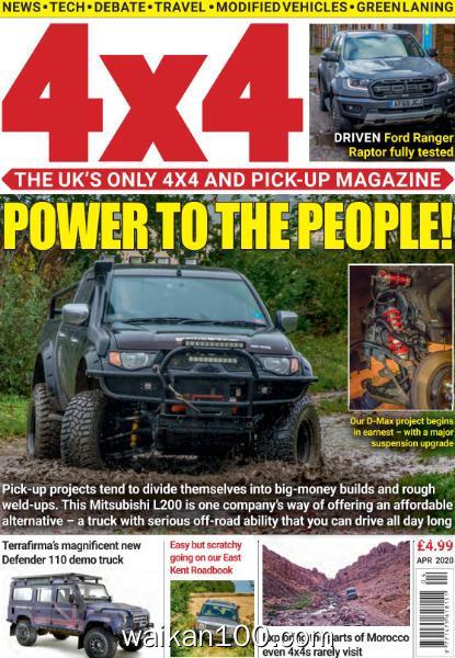 [英国版]4×4 Magazine 4月刊 2020年 [77MB]