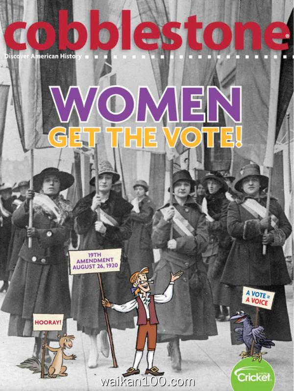 Cobblestone 3月刊 2020年高清PDF电子杂志外刊期刊下载英文原版