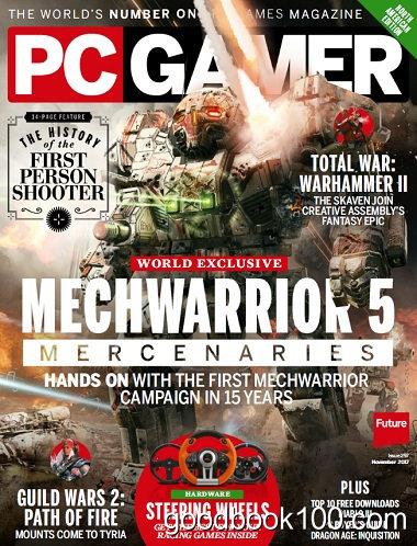 PC Gamer USA – November 2017