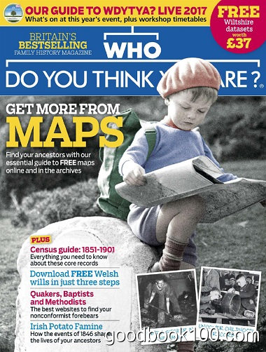Who Do You Think You Are – April 2017