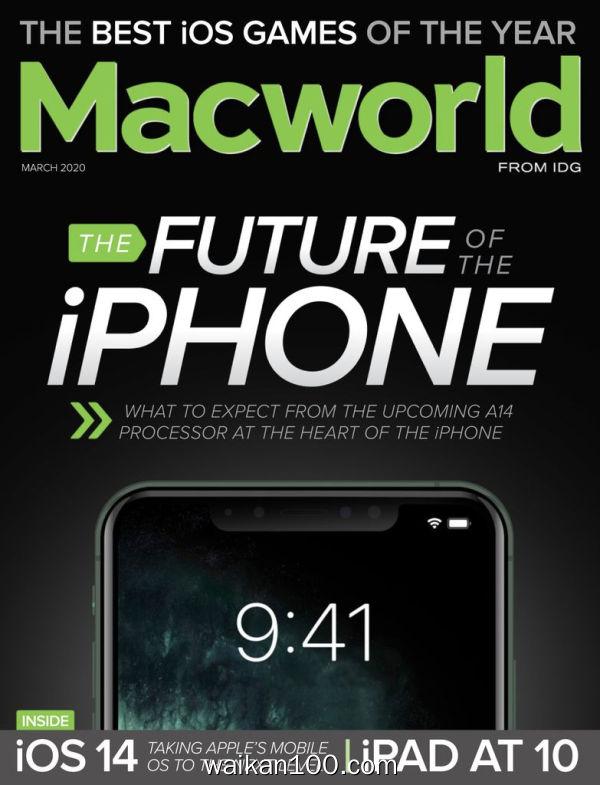 [美国版]Macworld 3月刊 2020年高清PDF电子杂志外刊期刊下载英文原版