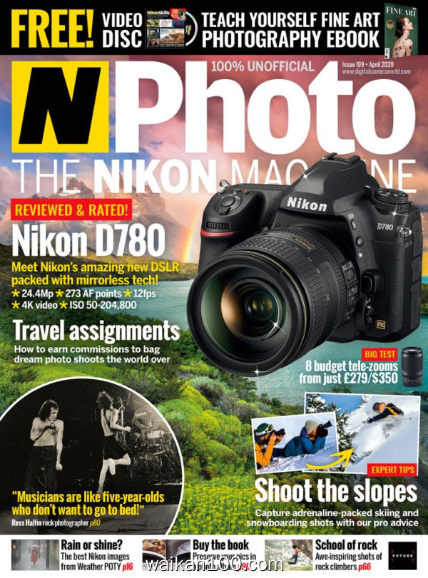 [英国版]N Photo 4月刊 2020年 [136MB]