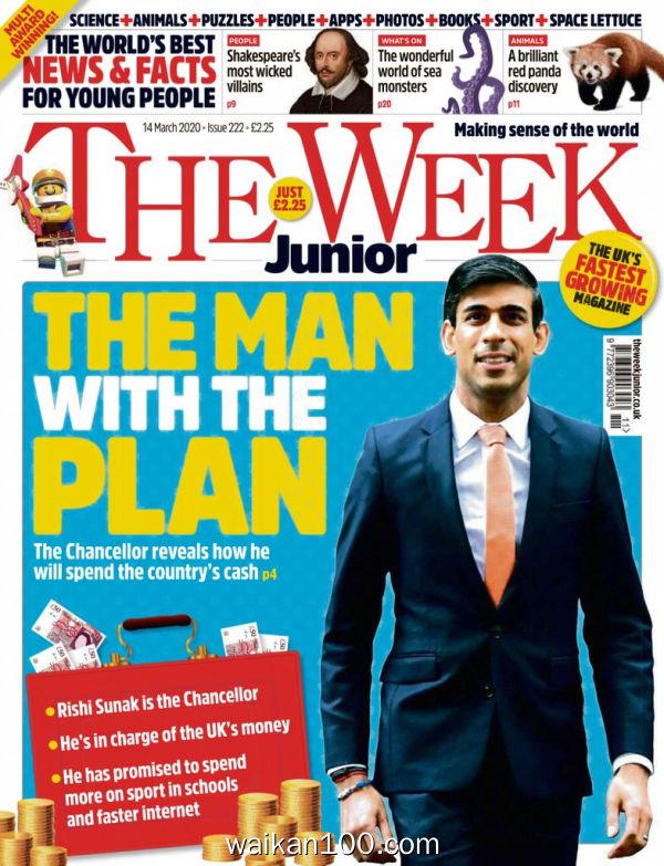 [英国版]The Week Junior 14 3月刊 2020年 [20MB]