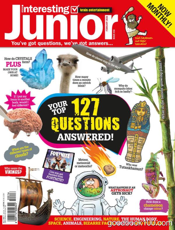 Very_Interesting_Junior_-_February_2020英文原版高清PDF电子杂志下载