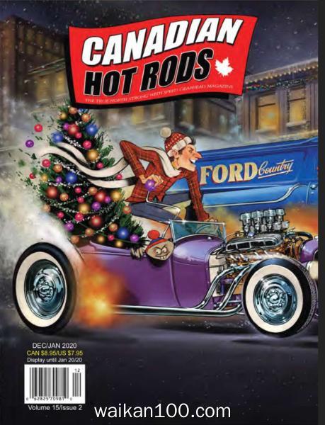Canadian Hot Rods 12月刊 2019 1月刊 2020年 [20MB]