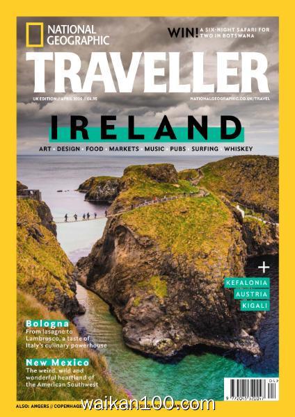 [英国版]National Geographic Traveller 4月刊 2020年 [60MB]