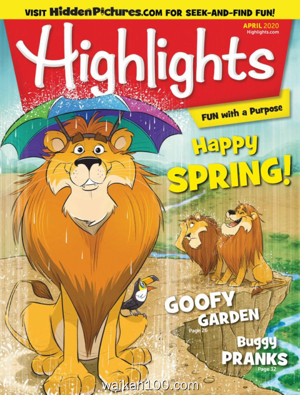 Highlights for Children 4月刊 2020年 [23MB]