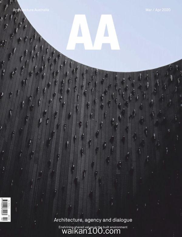 [澳大利亚版]Architecture 3月4月合刊 2020年 [43MB]