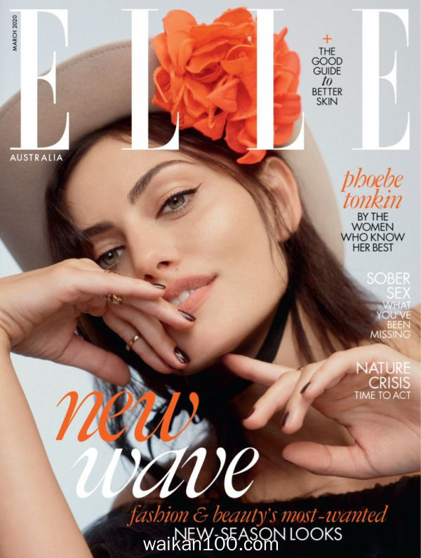[澳大利亚版]Elle 3月刊 2020年高清PDF电子杂志外刊期刊下载英文原版