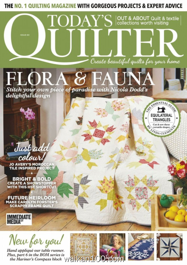 Today's Quilter 5月刊 2020年 [60MB]