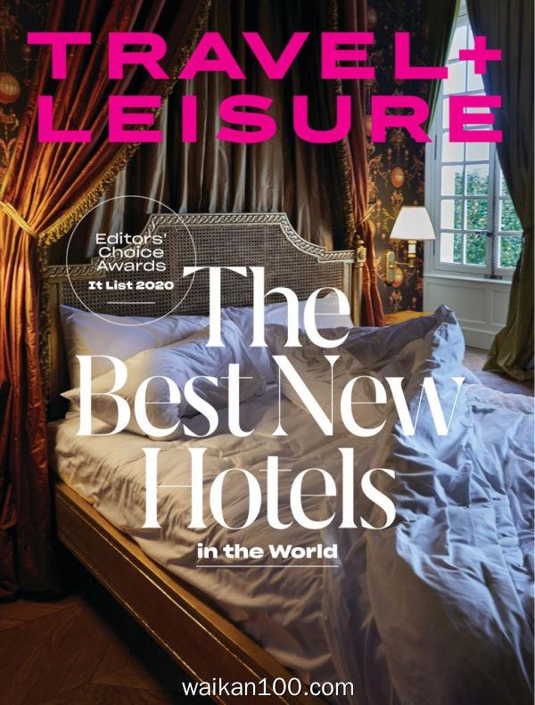 [美国版]Travel Leisure 3月刊 2020年高清PDF电子杂志外刊期刊下载英文原版