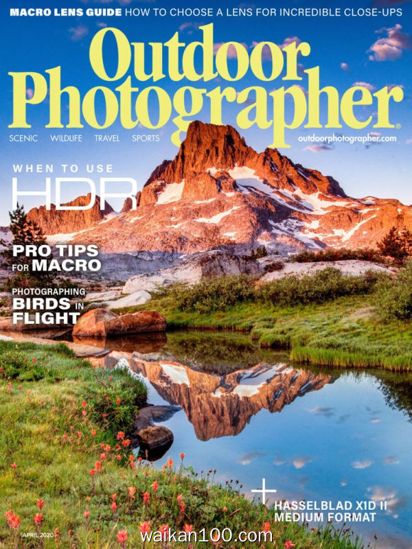 Outdoor Photographer 4月刊 2020年 [48MB]