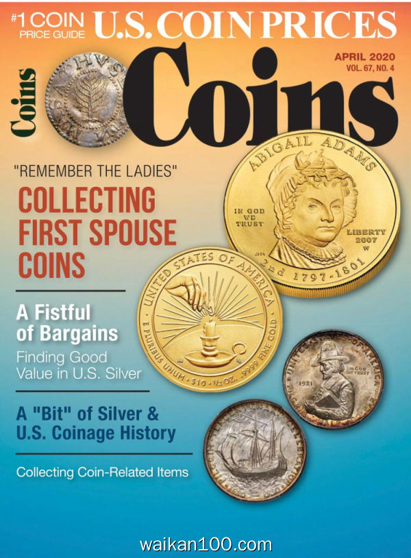 Coins 4月刊 2020年高清PDF电子杂志外刊期刊下载英文原版