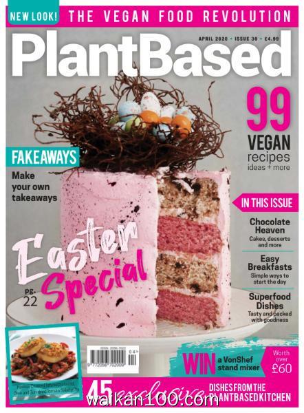 PlantBased 总期数No.30 4月刊 2020年 [27MB]