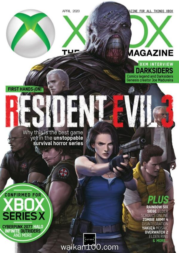 [美国版]Official Xbox Magazine 4月刊 2020年 [118MB]
