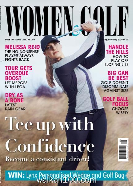 Women&Golf Magazine 1月2月合刊 2020年高清PDF电子杂志外刊期刊下载英文原版