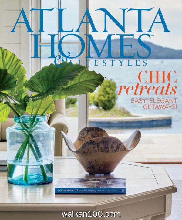Atlanta Homes&Lifestyles 4月刊 2020年 [180MB]