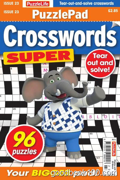 PuzzleLife_PuzzlePad_Crosswords_Super_-_Issue_23_-_February_2020英文原版高清PDF电子杂志下载