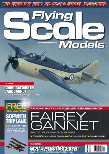 Flying Scale Models 总期数No.242 1月刊 2020年高清PDF电子杂志外刊期刊下载英文原版