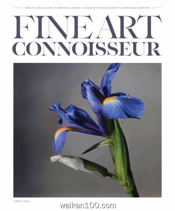 Fine Art Connoisseur 3月4月合刊 2020年 [72MB]