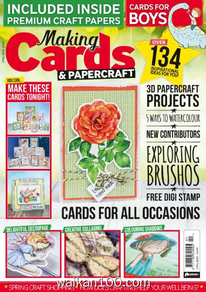 Making Cards&Papercraft 4月刊 2020年 [46MB]