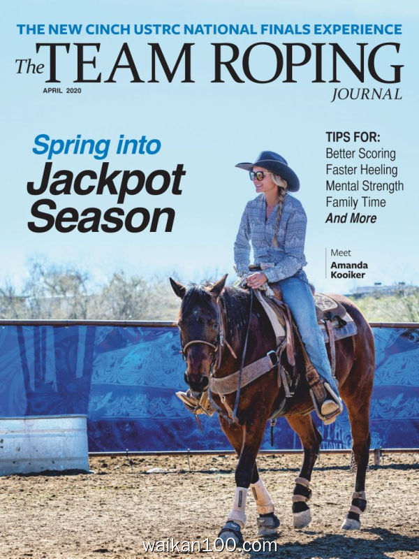 The Team Roping Journal 4月刊 2020年 [81MB]