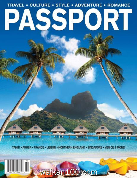 Passport 3月4月合刊 2020年高清PDF电子杂志外刊期刊下载英文原版