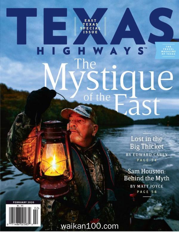 Texas Highways 2月刊 2020年 [87MB]