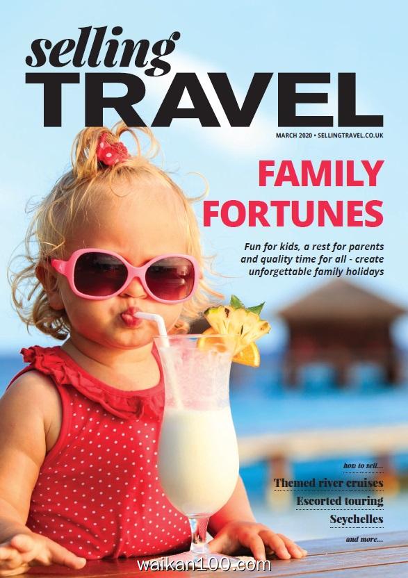 Selling Travel 3月刊 2020年高清PDF电子杂志外刊期刊下载英文原版