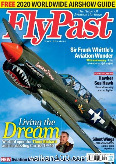 FlyPast 4月刊 2020年高清PDF电子杂志外刊期刊下载英文原版