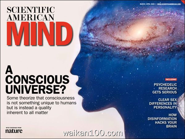 Ssientifis American Mind 3月刊 4月刊 2020年 Tablet Edition高清PDF电子杂志外刊期刊下载英文原版