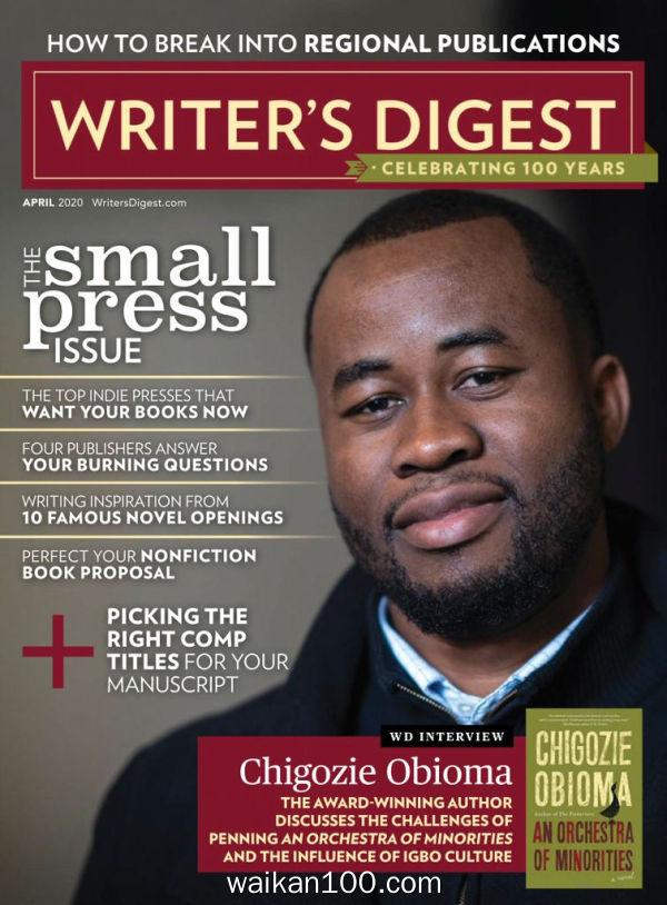 Writer's Digest 4月刊 2020年 [17MB]