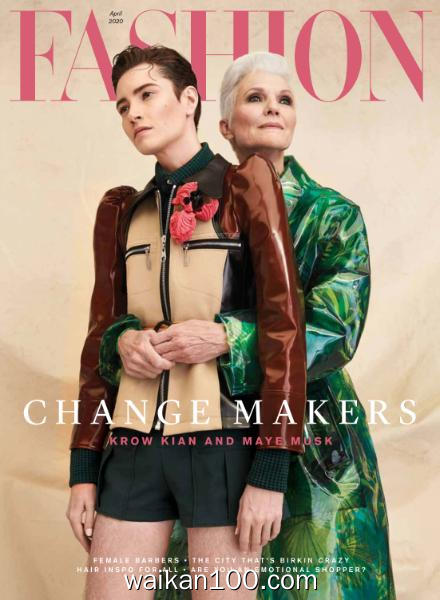 Fashion Magazine 4月刊 2020年 [18MB]