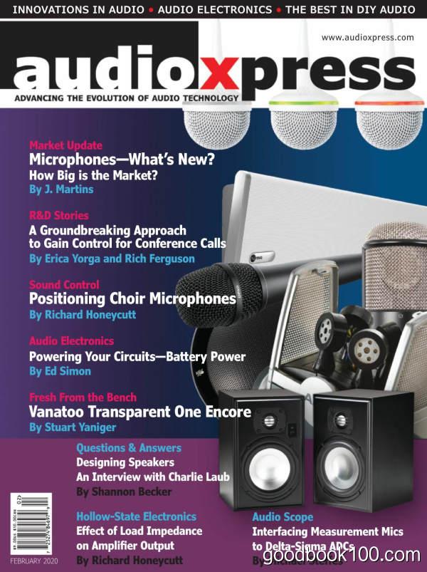 audioXpress_-_February_2020英文原版高清PDF电子杂志下载