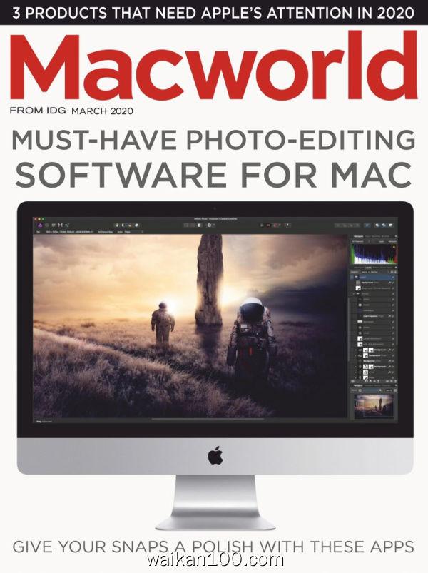 [英国版]Macworld 3月刊 2020年高清PDF电子杂志外刊期刊下载英文原版