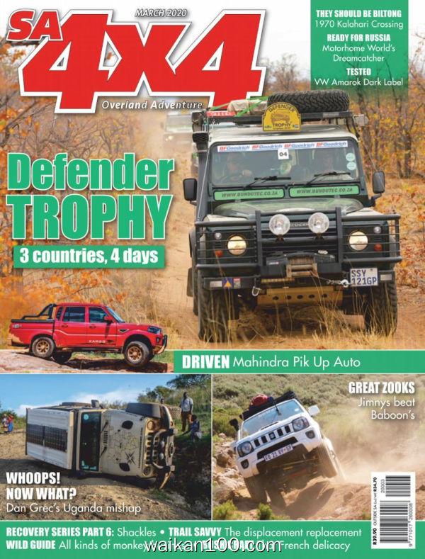 SA4x4 3月刊 2020年高清PDF电子杂志外刊期刊下载英文原版